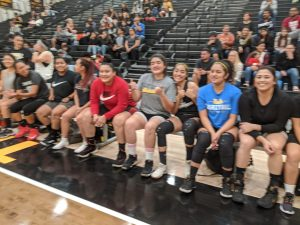 Girls Hoops Alumni Game 11/13/14