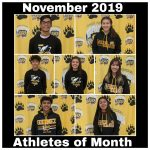 Godinez Celebrates Our November 2019 Athletes of the Month!