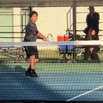 Boys Junior Varsity Tennis falls to Santa Ana 12 – 6