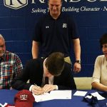 Griffin Widner signs with Troy University