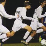 Randolph School Boys Varsity Soccer beat Johnson 17-0