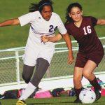 Randolph School Girls Junior Varsity Soccer falls to West Morgan High School 2-0