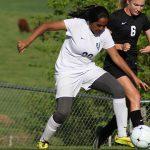 Randolph School Girls Varsity Soccer beat Athens High School 1-0