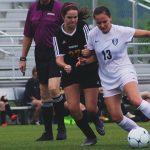 Randolph School Girls Varsity Soccer beat Priceville High School 2-0