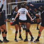 Randolph School Girls Varsity Volleyball beat Madison County 3-2