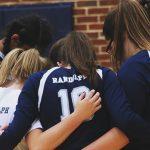 Randolph School Girls Varsity Volleyball falls to Muscle Shoals High School 2-1