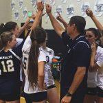Randolph School Girls Varsity Volleyball falls to Albertville High School 2-0