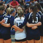 Randolph School Girls Varsity Volleyball falls to Buckhorn 2-0