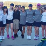 Randolph School Girls Varsity Tennis beat Scottsboro High School 8-1