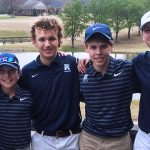 Randolph School Boys Varsity Golf participate in the Albertville Tournament