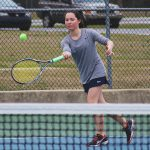 Randolph School Girls Varsity Tennis beat Madison County High School 9-0