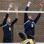 Randolph School Girls Varsity Volleyball falls to Buckhorn High School 3-0