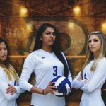 Seniors recognized at Monday's match
