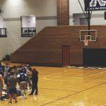 UAH Men's Basketball Team at Garth