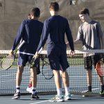 Boys Varsity Tennis beats Westminster Christian Academy
