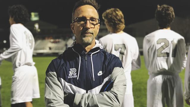 Varsity Boys Soccer coach hits 100 wins