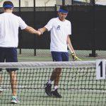 Boys Varsity Tennis beats Lee