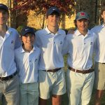 Raider Boys Golf win last match of the season.