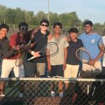 Boys Varsity Tennis beats Briarwood Christian School