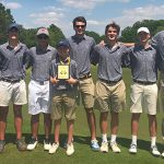 Raider Boys Golf Sectional Runner Up