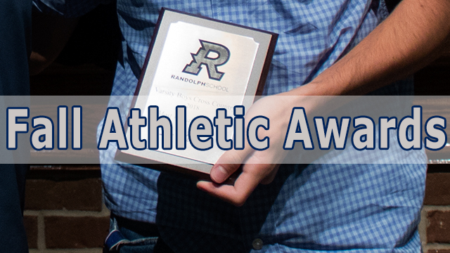 Fall Athletes recognized on Awards Day
