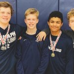 Randolph Wrestling team ending great first season, with one heading to Sectionals