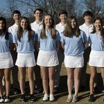 Randolph Varsity Boys & Girls Golf Team win Area Matches