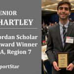 Bryant-Jordan Scholar Athlete – Sam Hartley