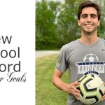 Raider Sam Hartley sets a new school record