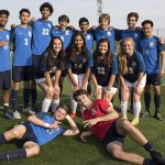 Varisty Soccer end regular season with Senior Night