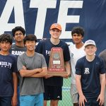 Randolph Tennis winning at State
