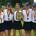 Randolph Varsity Girls Golf Team Defends its 2018 AHSAA Class 4A-5A Sectional Championship with a Score of 224