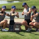 Varsity Girls Golf Team is the 2019 AHSAA Class 4A-5A North Substate Championship
