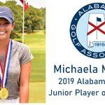 2019 Alabama State Junior Player of the Year: Senior Michaela Morard