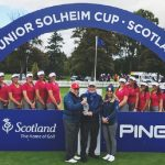 Randolph Senior Michaela Morard helps lead TEAM USA to Victory in the 2019 Junior Solheim Cup