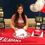 Senior Michaela Morard signs to play golf at UA
