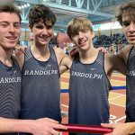 Raiders Indoor Track & Field setting records at the MLK Meet