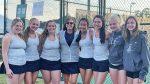 Varsity Girls Tennis team represented Randolph at the AHSAA state tournament