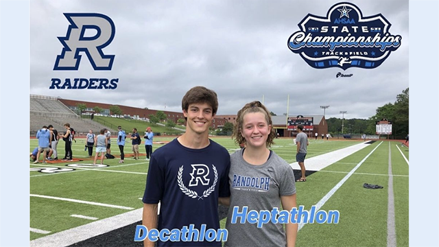Raiders compete at the State Heptathlon and Decathlon