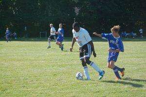 Soccer vs. Baptist Park  9/3/13