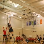 Hawks Volleyball Wins In 3 against Bloomfield Hills Roeper
