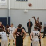 Huron Valley Lutheran High School Basketball Varsity Boys beats Lutheran High School South 56-41