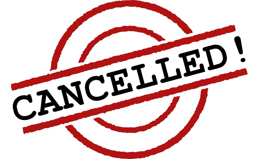 CANCELLED – ALL Practices for Monday, February 12