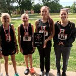 Girls Cross Country starts season strong with 3 Top 10 Finishers and 3rd Place at the Concordia Cardianl Invitational