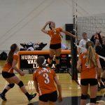 Girls Varsity Volleyball beats Roeper 3 – 1