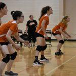JV Volleyball beats Parkway Christian,  Varsity  falls short in comeback.