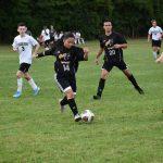 Hawks soccer defeats Lutheran Westland 1-0.