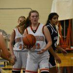 Girls Junior Varsity Basketball beats Cardinal Mooney 25 – 23
