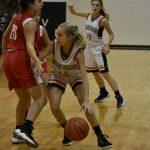 Girls Junior Varsity Basketball beats Lutheran High School Westland 27 – 20