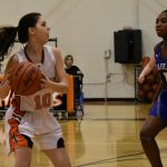 Girls Varsity Basketball beats Roeper 46 – 14